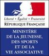 Logo du Ministère de la Jeunesse, des sports et de la vie associative